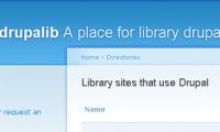 Biblioteki na Drupalu