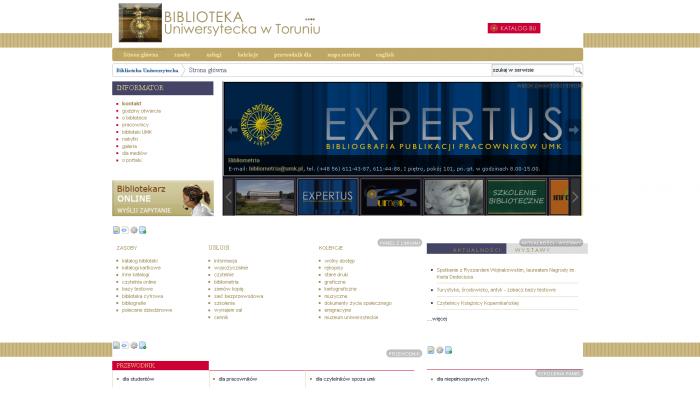 Portal Biblioteki Uniwersyteckiej w Toruniu