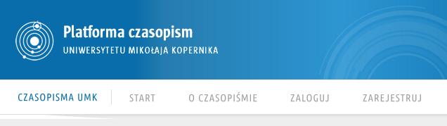 Otwarte czasopisma na Uniwersytecie Mikołaja Kopernika w Toruniu na Open Journal Systems