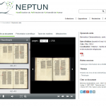 "Omeka - Cyfrowa wystawa ""Neptun"", źródło: http://neptun.unamur.be/"