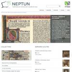 """Cyfrowa wystawa """"Neptun"""", źródło: http://neptun.unamur.be/"""