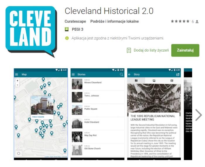 Cleveland Historical 2.0,