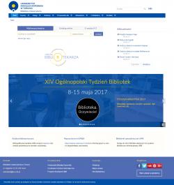 Witryna BU UMK dostępna dlaczytelników