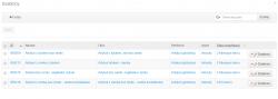 Lista szablonów wykorzystywanych w portalu BU UMK