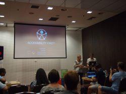 Justyna Michallek i Stefan Wajda / Accessibility first!