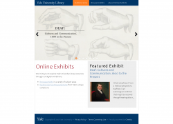 Online Exhibits Yale, źródło: http://exhibits.library.yale.edu/