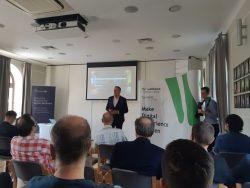 Piotr Sęk otwiera spotkanie Liferay & Webtown Roadshow