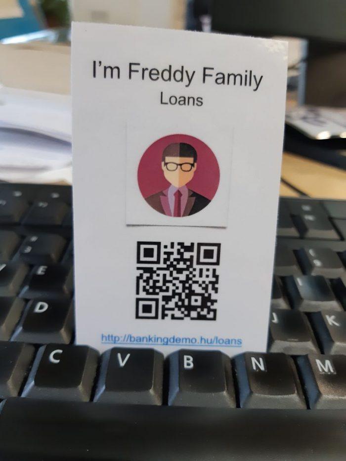 Persona Freddy Family