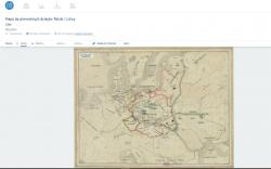 Mapa w Recogito